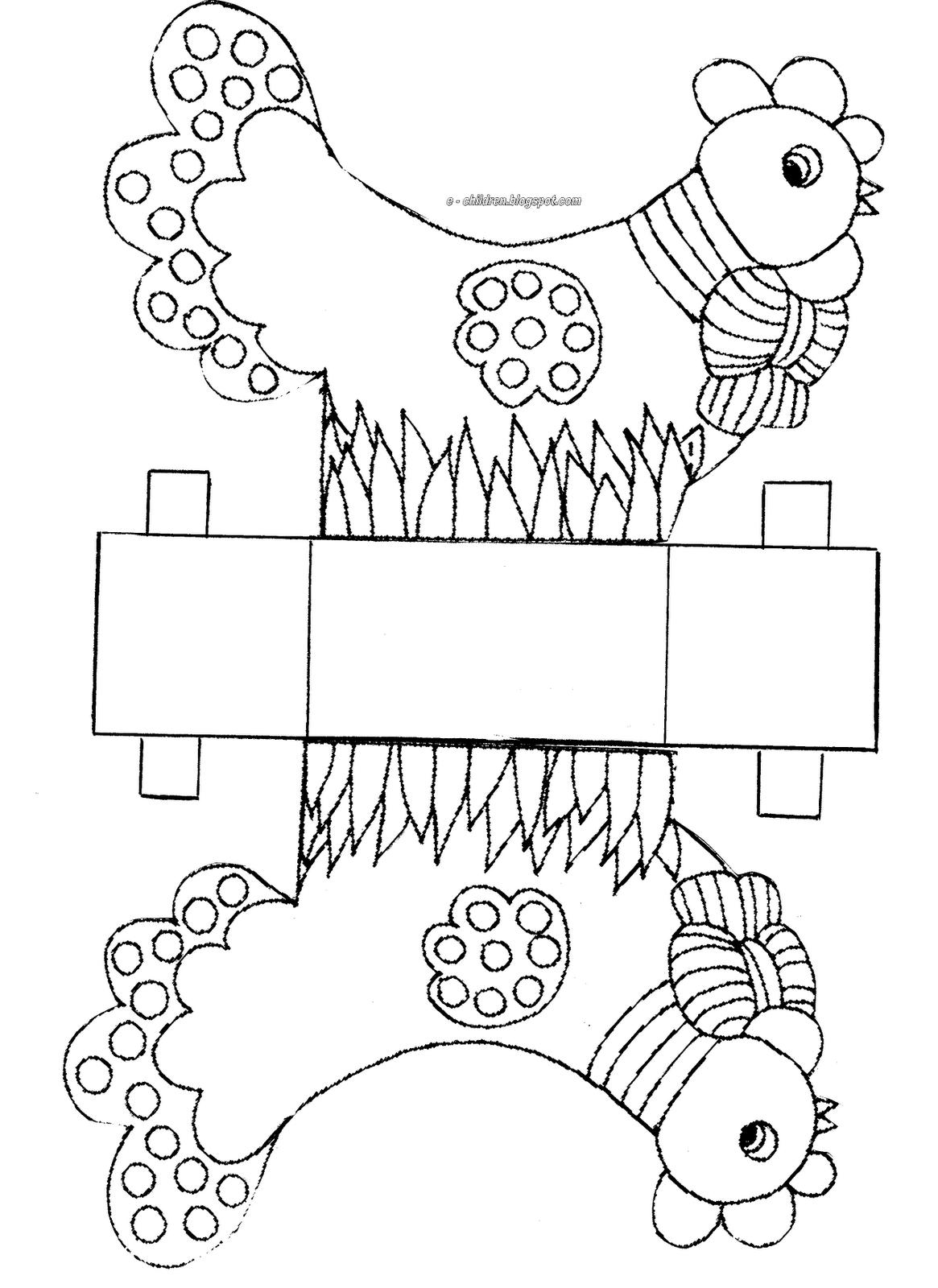 Lavoretti Di Pasqua Per Bambini Scatole A Forma Di