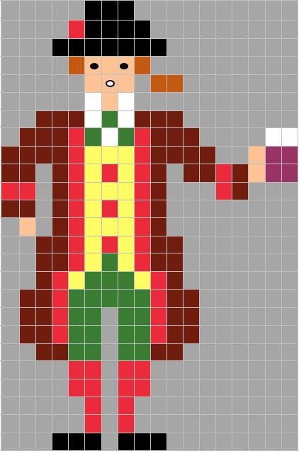 Coding Unplugged E Pixel Art La Scheda Di Carnevale Di Gianduia